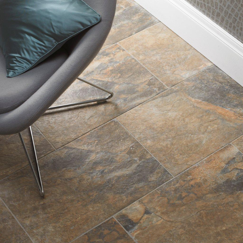 Traditional porcelain and ceramic flooring