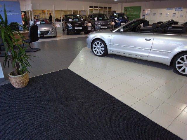commercial floor tiling