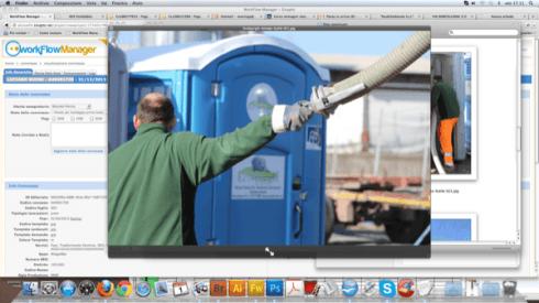 Installazione bagni chimici