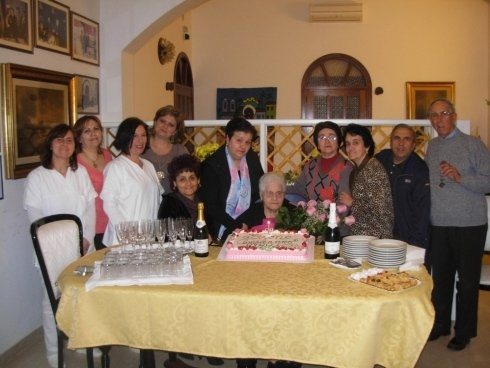 Festeggiamenti con i parenti