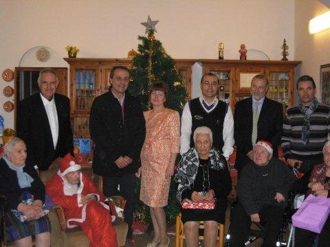 Natale 2013 con Sindaco Giacomo Tranchita