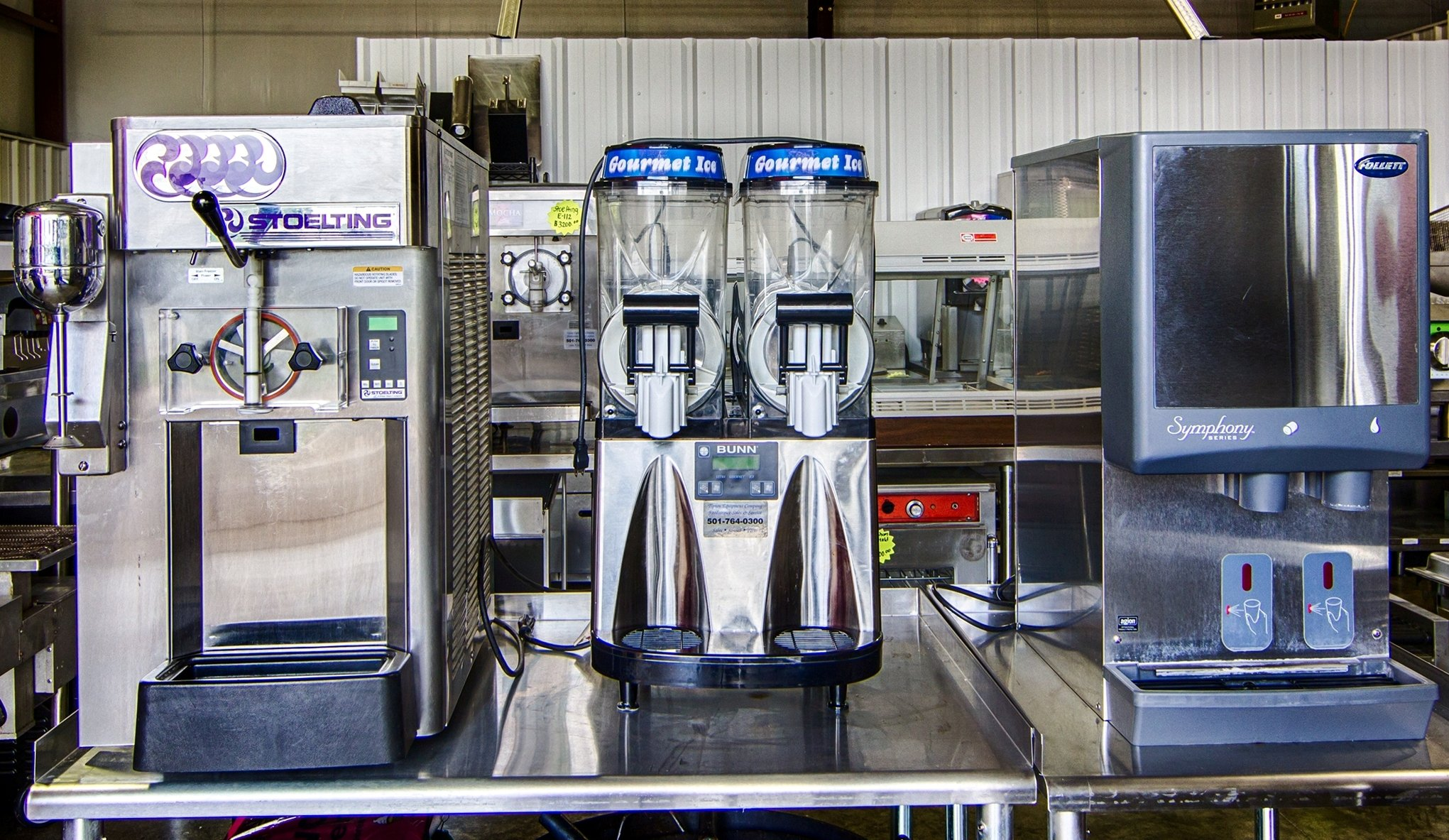 Used commercial kitchen equipment - Frozen Beverage Machines Used Commerical Cooking Equipment