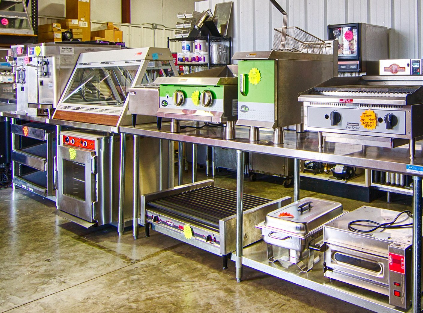 Used commercial kitchen equipment - Cooking Equipment