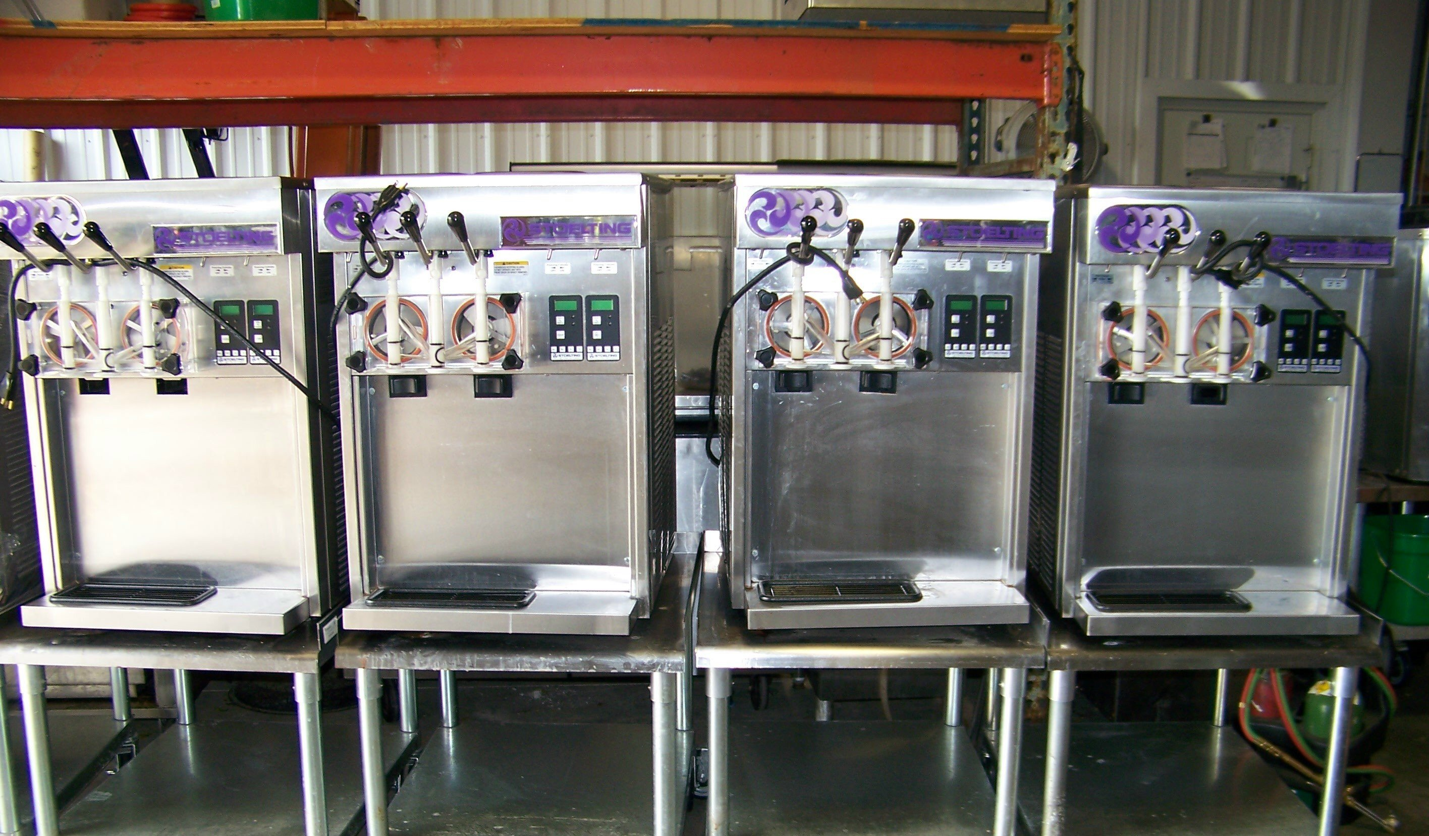 Used commercial kitchen equipment - Soft Serve Machines
