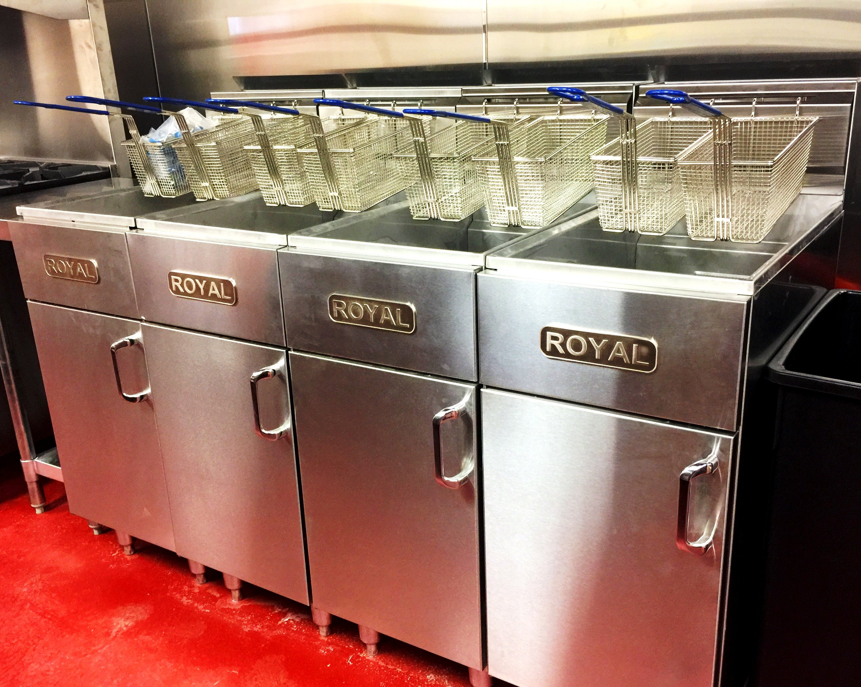 commerical fryers in central arkansas