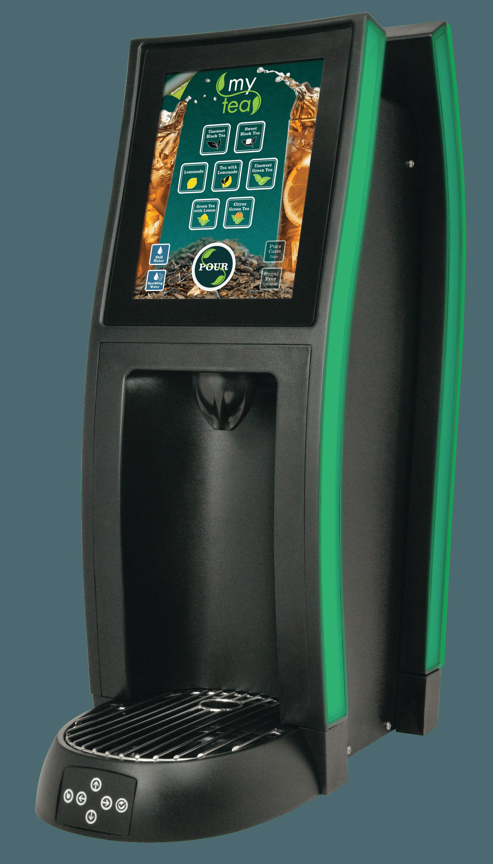 Touchscreen Tea Dispensing Tower in arkansas