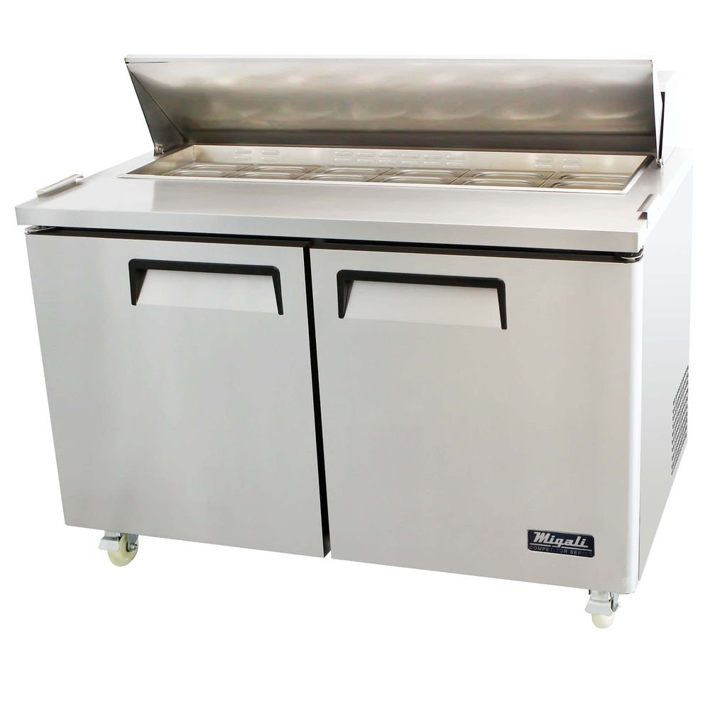 cooled prep tables in central arkansas