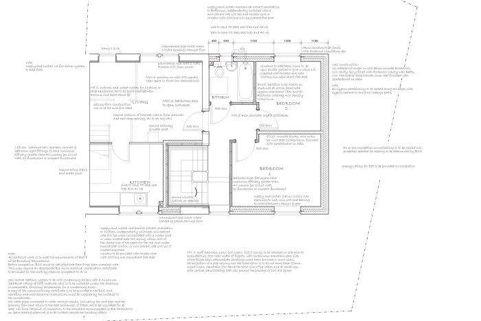 flat exterior design plan