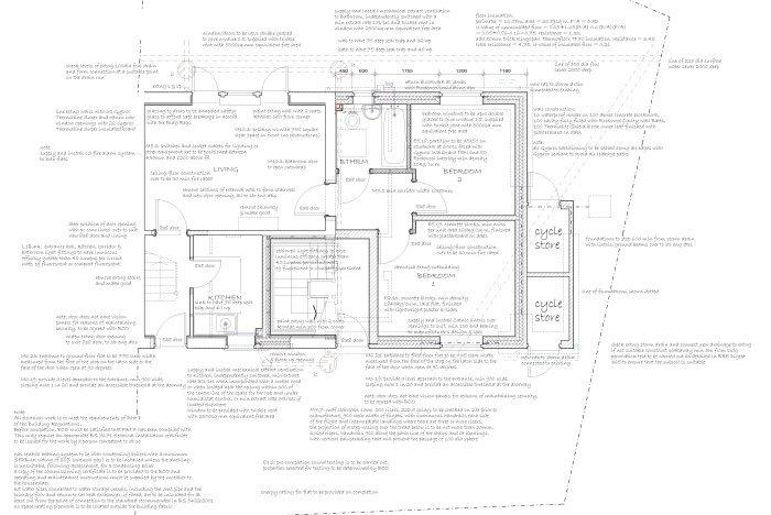 complete flat design plan