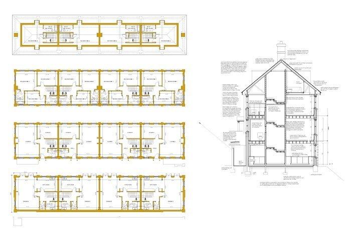 multi-storey house plan