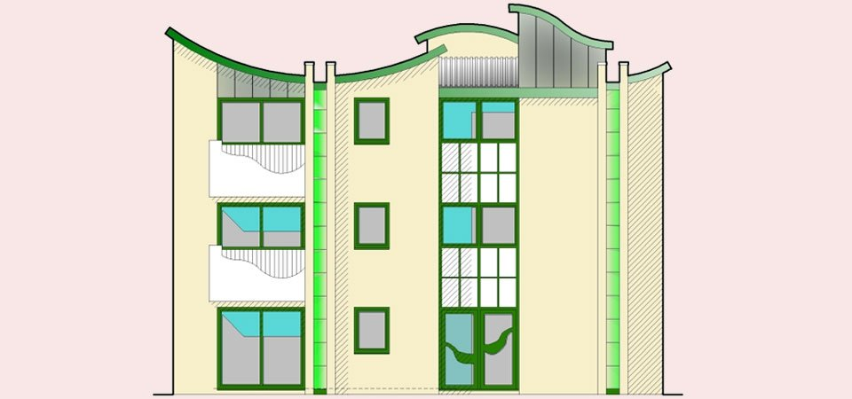 architecture for flats