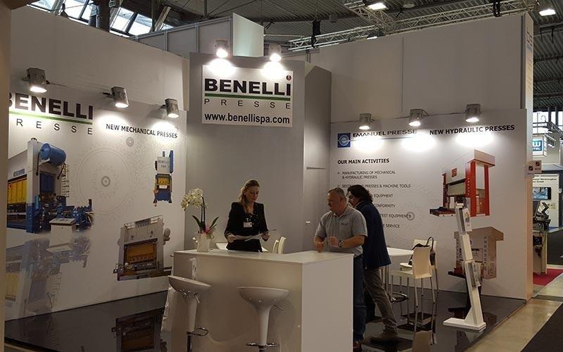 Benelli Presse на Blechexpo