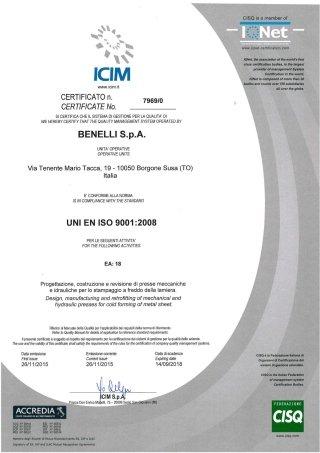Certification ICM