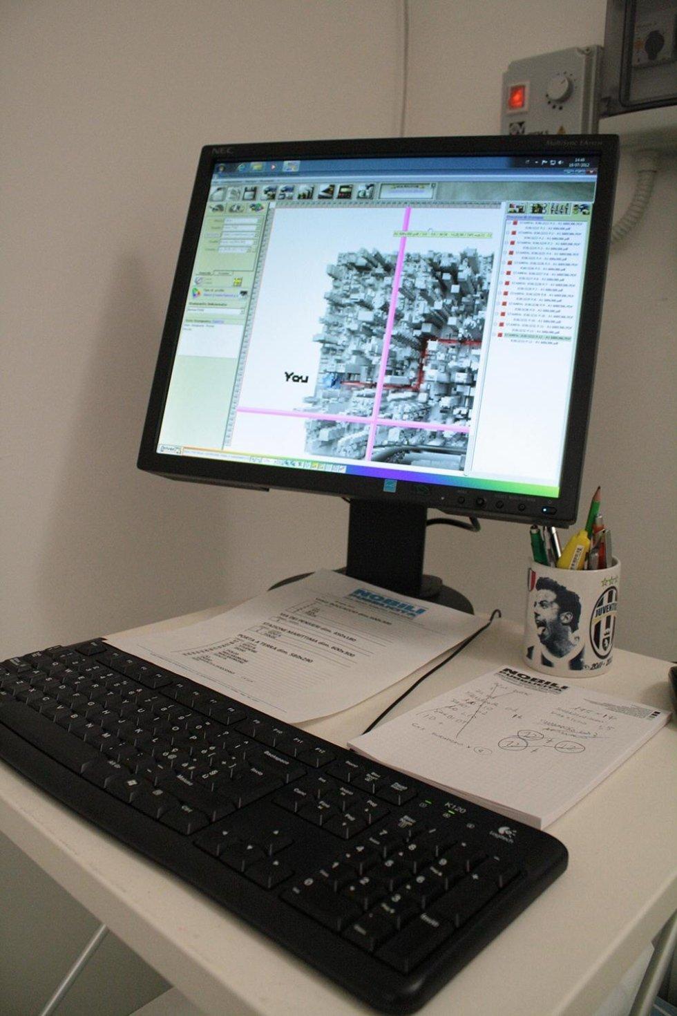 sviluppo grafico di un immagine al computer