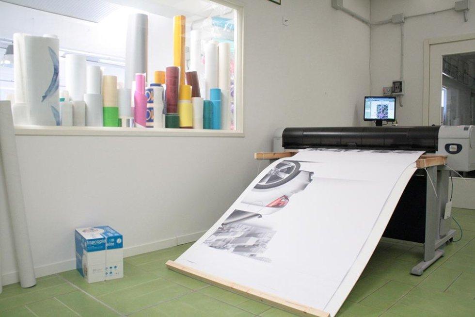 stampaggio di un progetto per auto