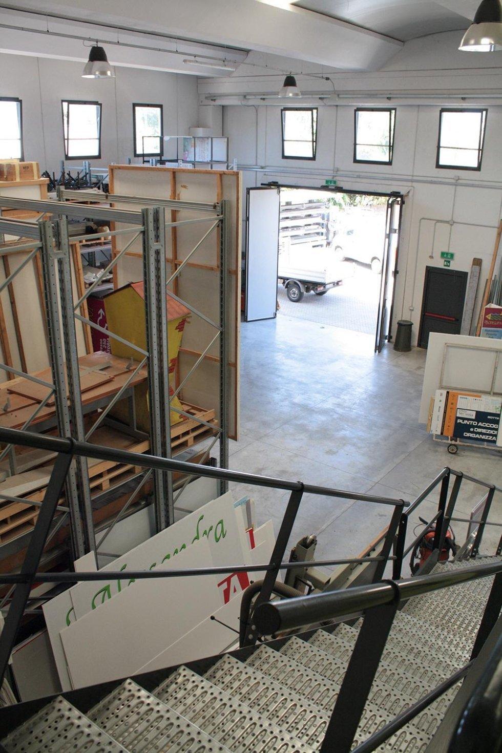 area di produzione stampaggio