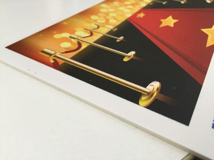 stampa digitale con stelle