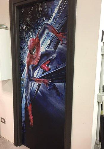 un poster di Spiderman