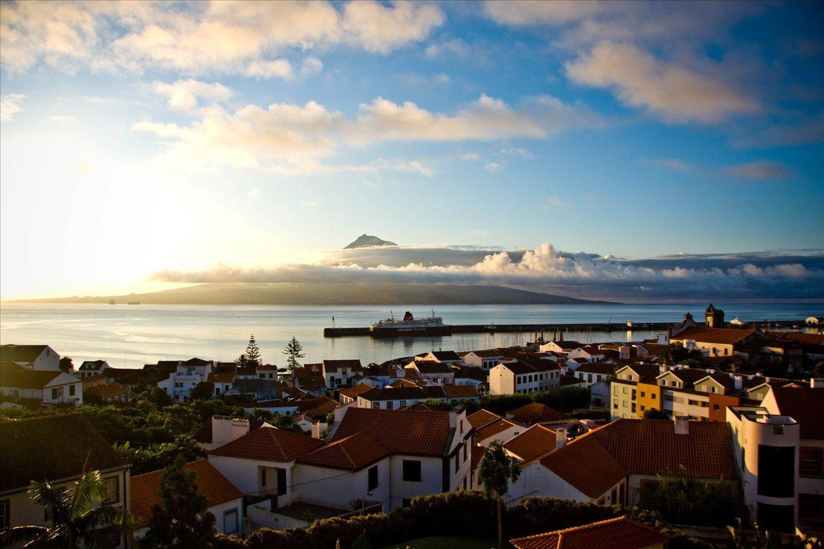 Azores bike tour ferry