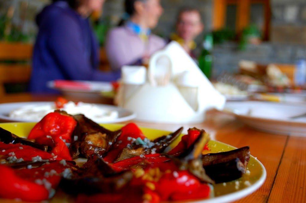 Albania bike tour cuisine