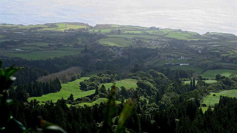 Azores bike tour scenery