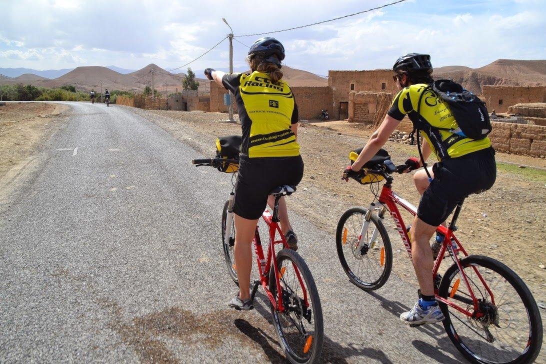 Morocco bike tour ride