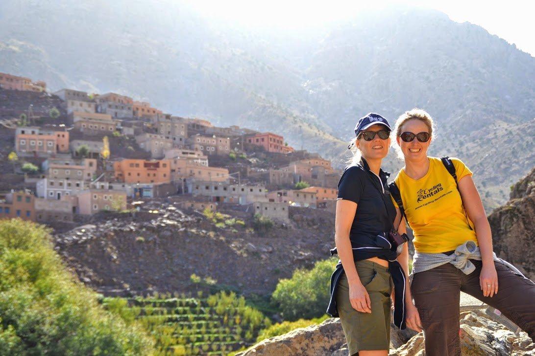 Morocco bike tour hike