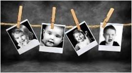 foto, bambini, battesimi