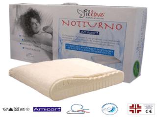 Guanciale notturno ortocervicale anti-acaro