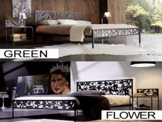 Letti in ferro Cosatto Green - Flower