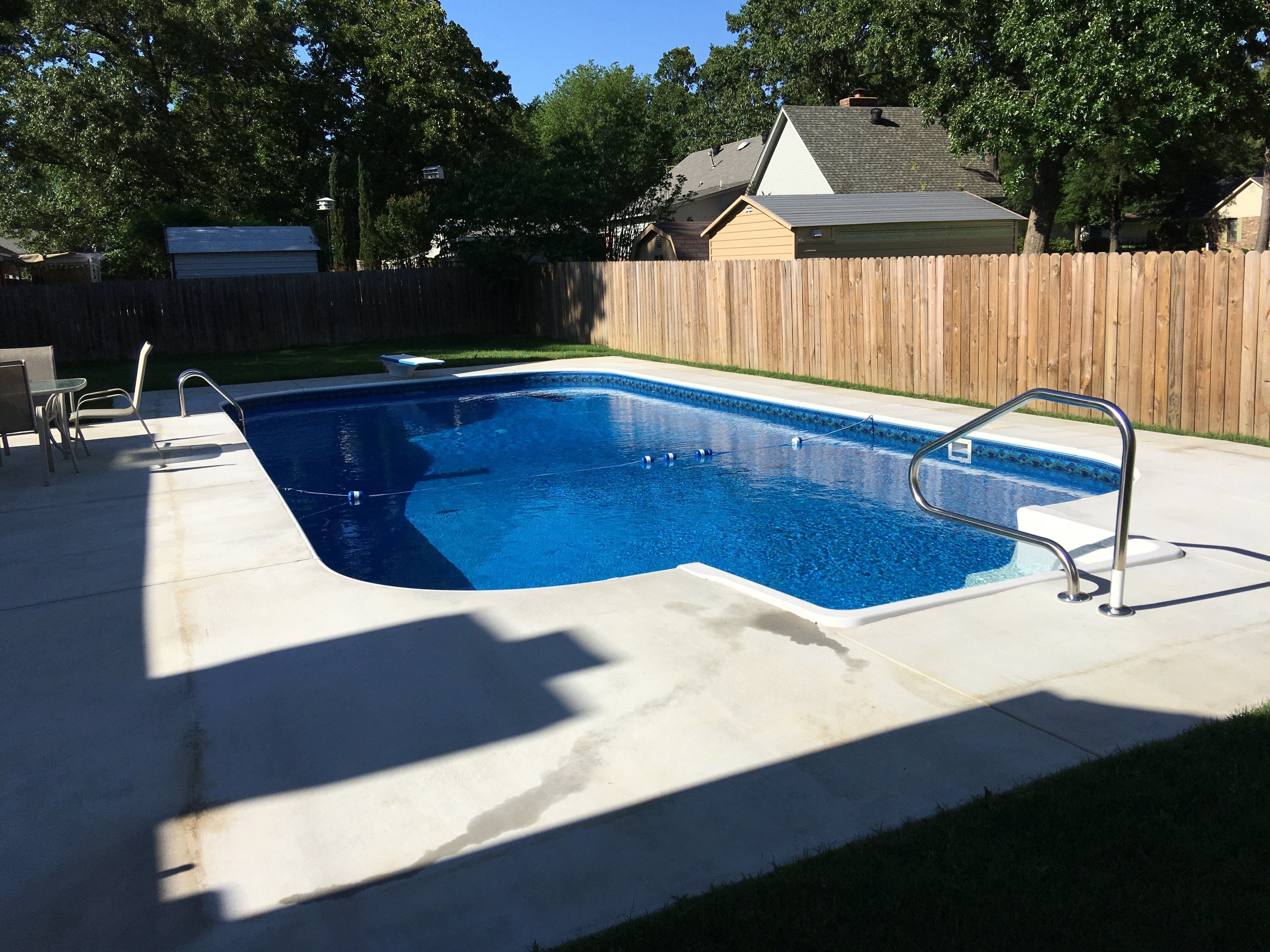 pool installation in Little Rock, AR