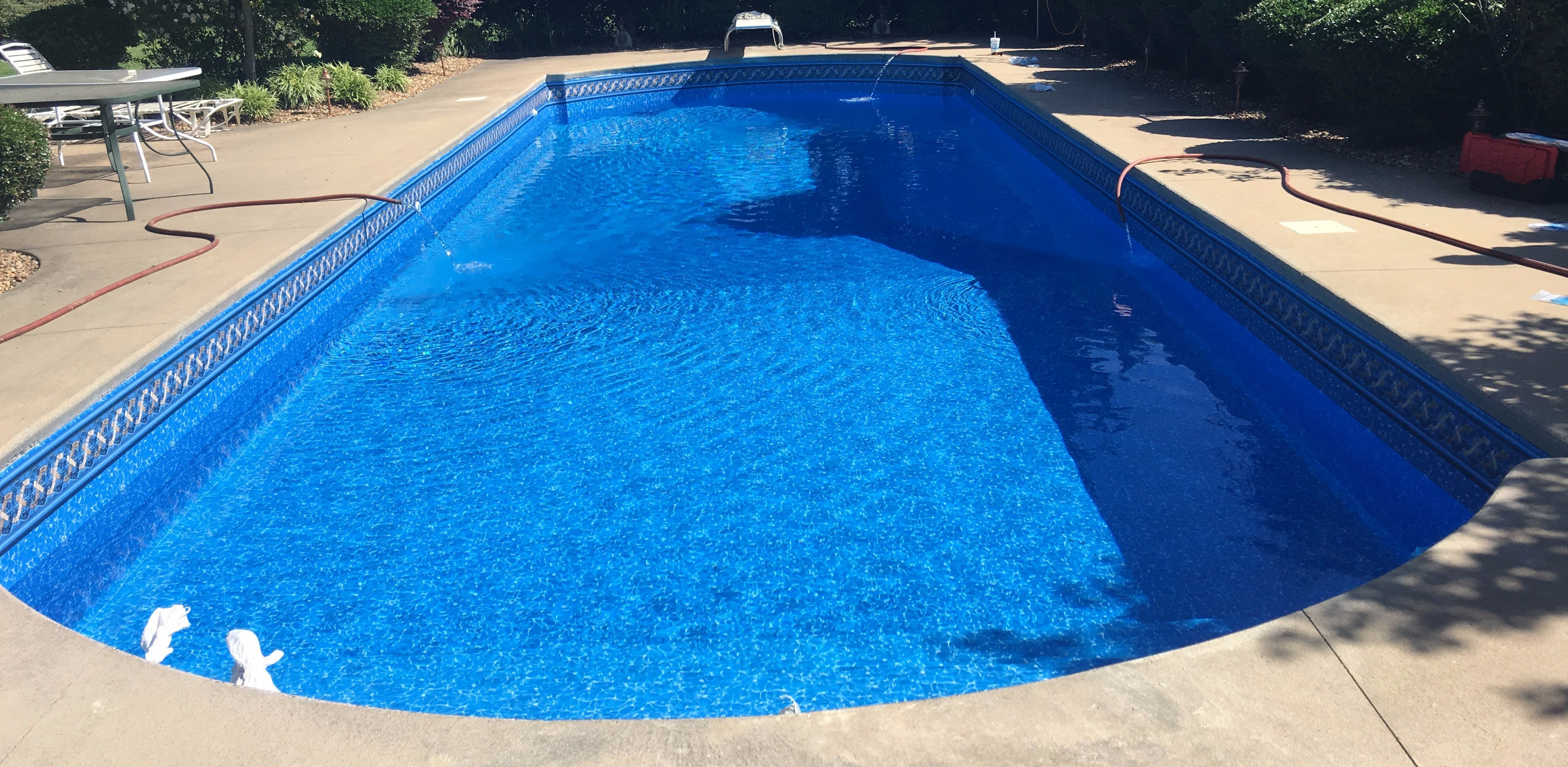 pool liner, pool liner replacement, central arkansas