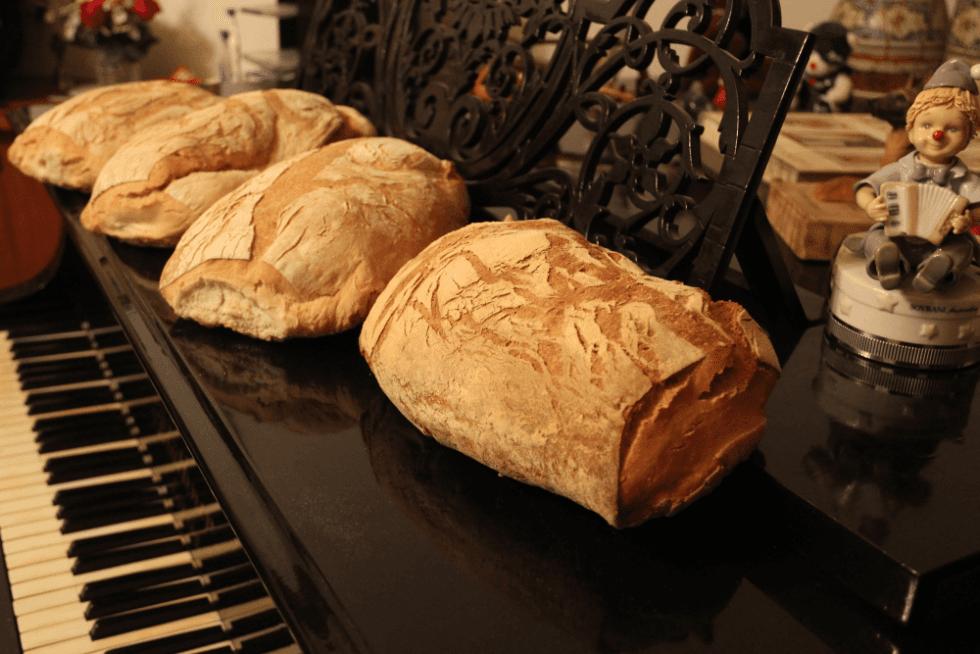 Pagnotte di pane su ordinazione