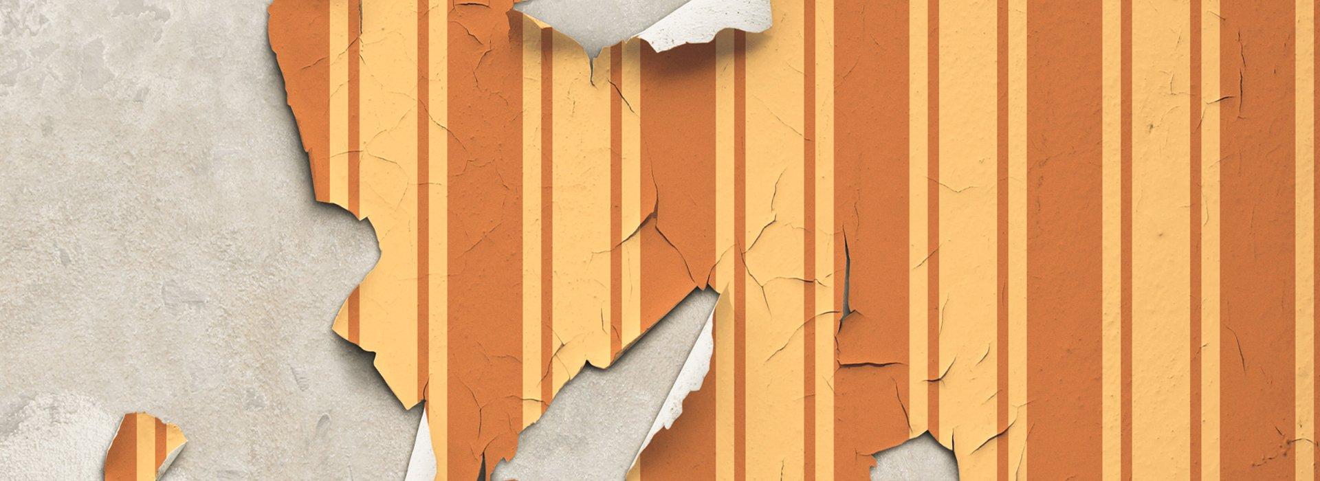 Wallpaper peel-off