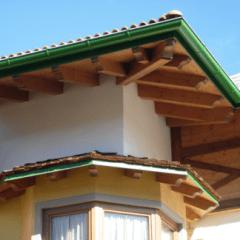 muri legno casa