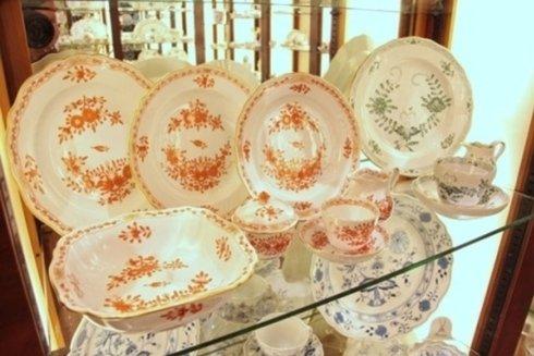 set porcellana decorata