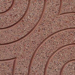 un pavimento in marmo Arlecchino rosa