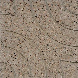 un pavimento in marmo Arlecchino beige