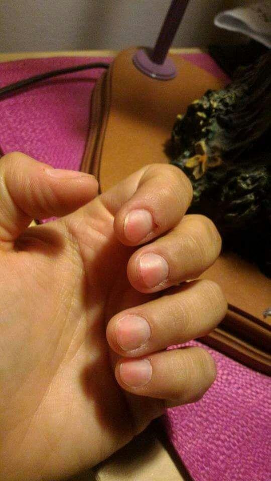 prima della manicure