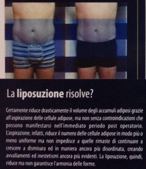percorsi benessere, riduzione del grasso