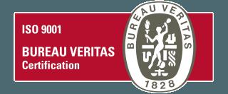 certificazione ISO 9001 - BUREAU VERITAS CERTIFICATION