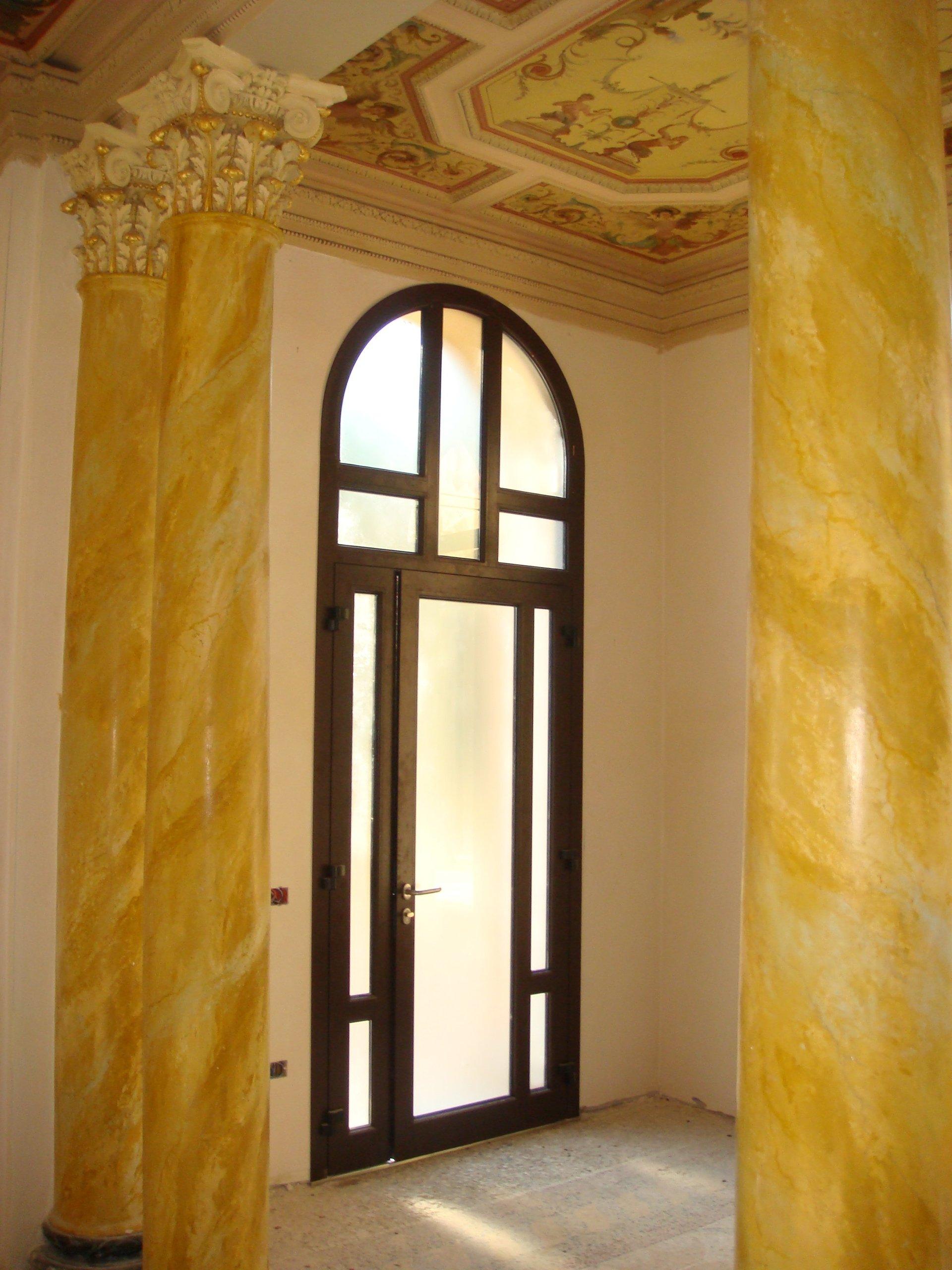 finestra in alluminio