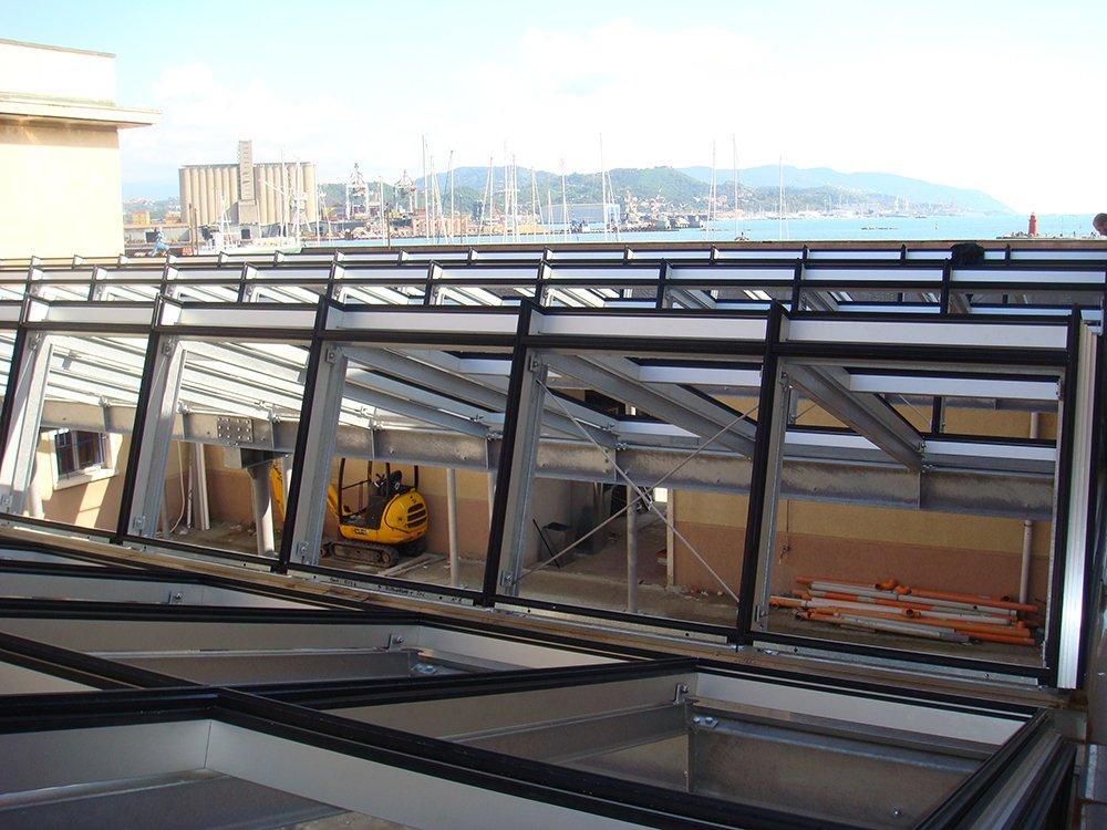 costruzione veranda esterna