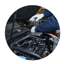car engine servicing