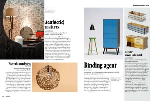 Tim Webber Furniture Featured Worldwide