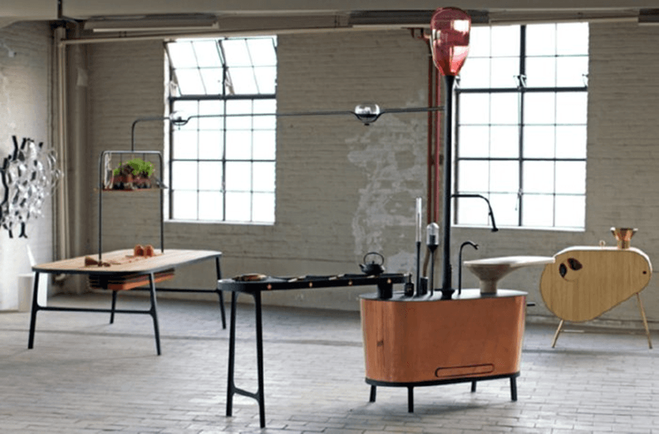 Post Industrial Kitchen Of The Future
