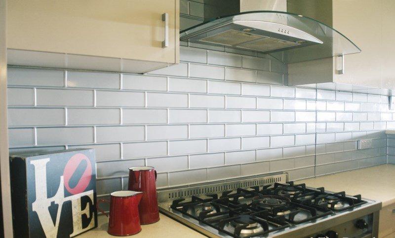 Pressed Tin Kitchen Splashback