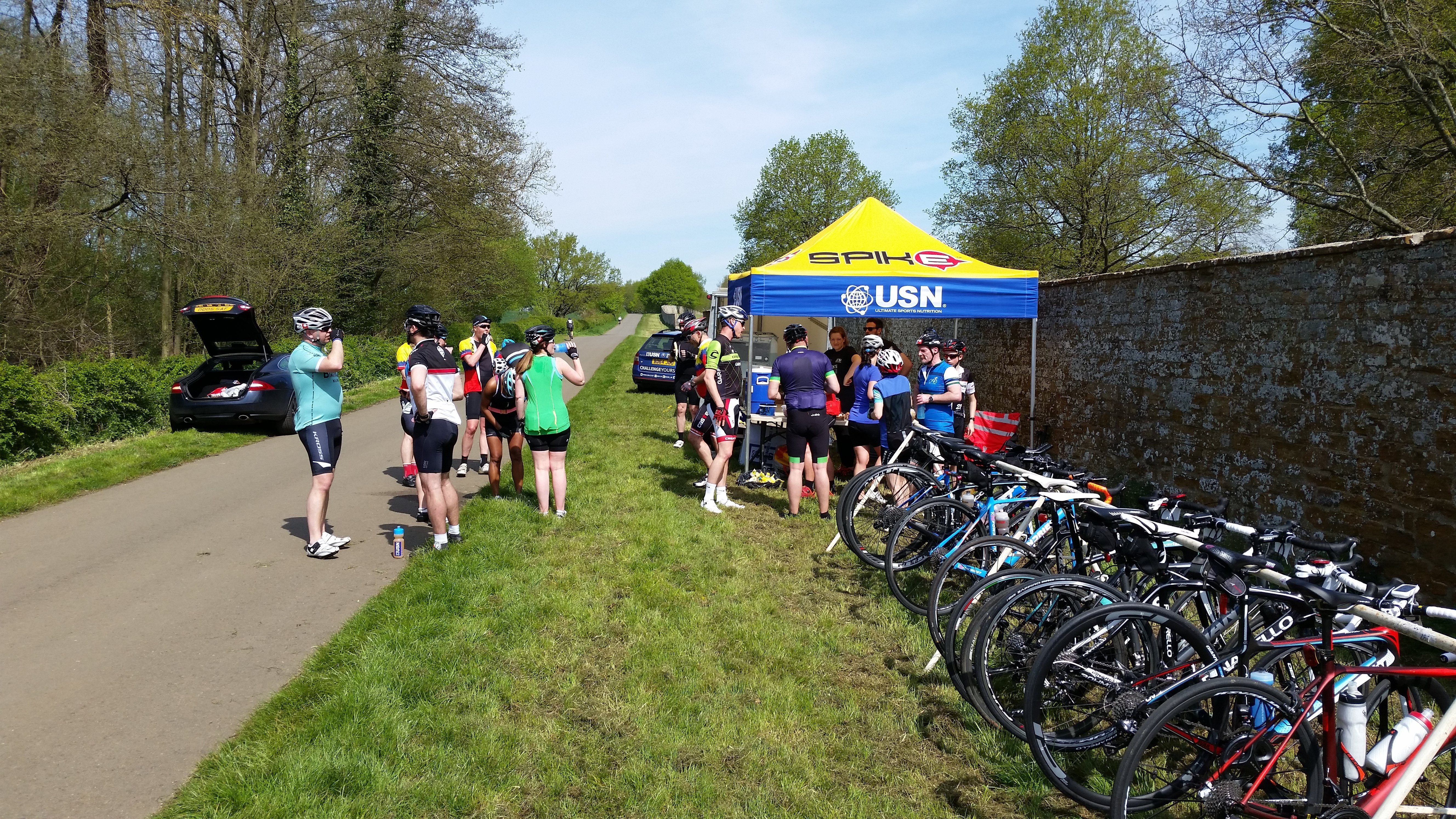 Squires & Spires Feed Station