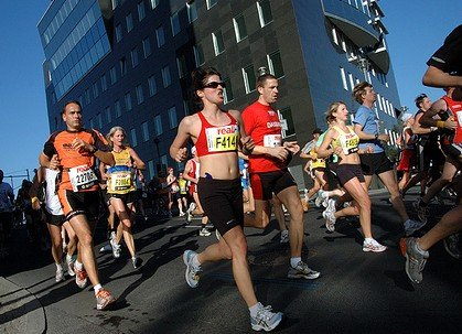 improving marathon running