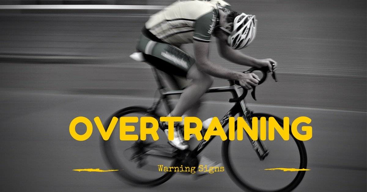 Overtrained cyclist